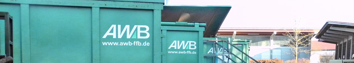 Abfallcontainer des AWB
